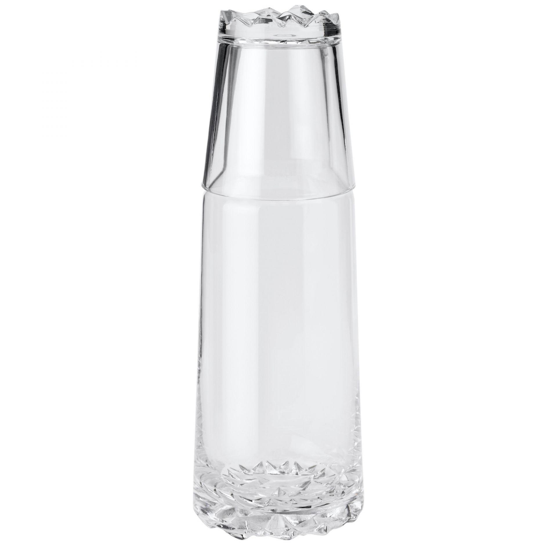 Glacier Karaffe 1 Liter mit 0,25 Glas Stelton