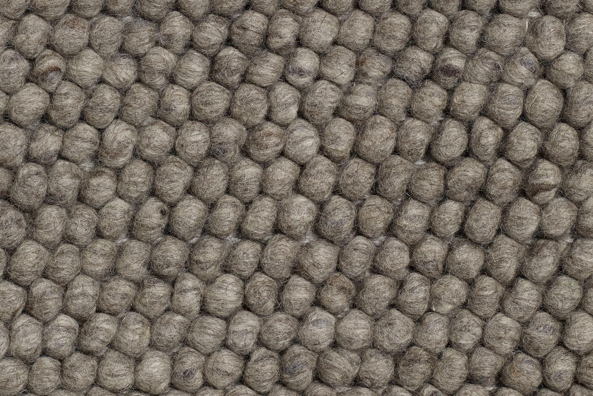 Peas Teppich L 200 x B 80 cm Soft grau Hay