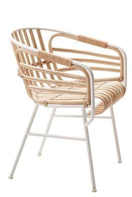 Raphia Stuhl Casamania-elfenbeinweiß