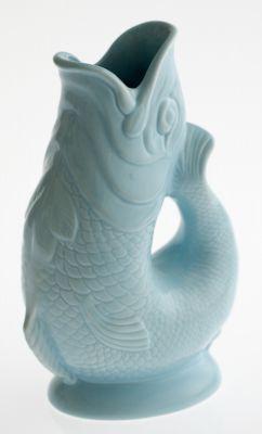 Gluckigluck Karaffe / Vase-hellblau