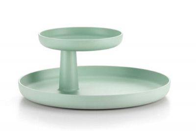 Rotary Tray Tablett Vitra-mintgrün