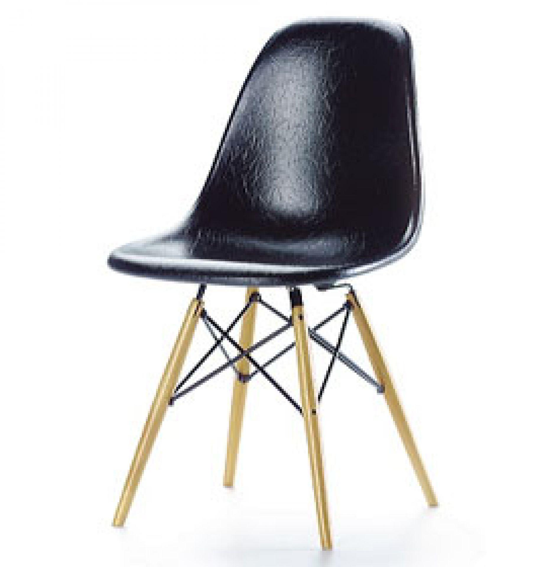 DSW schwarz [1950] Miniatur Stuhl Vitra