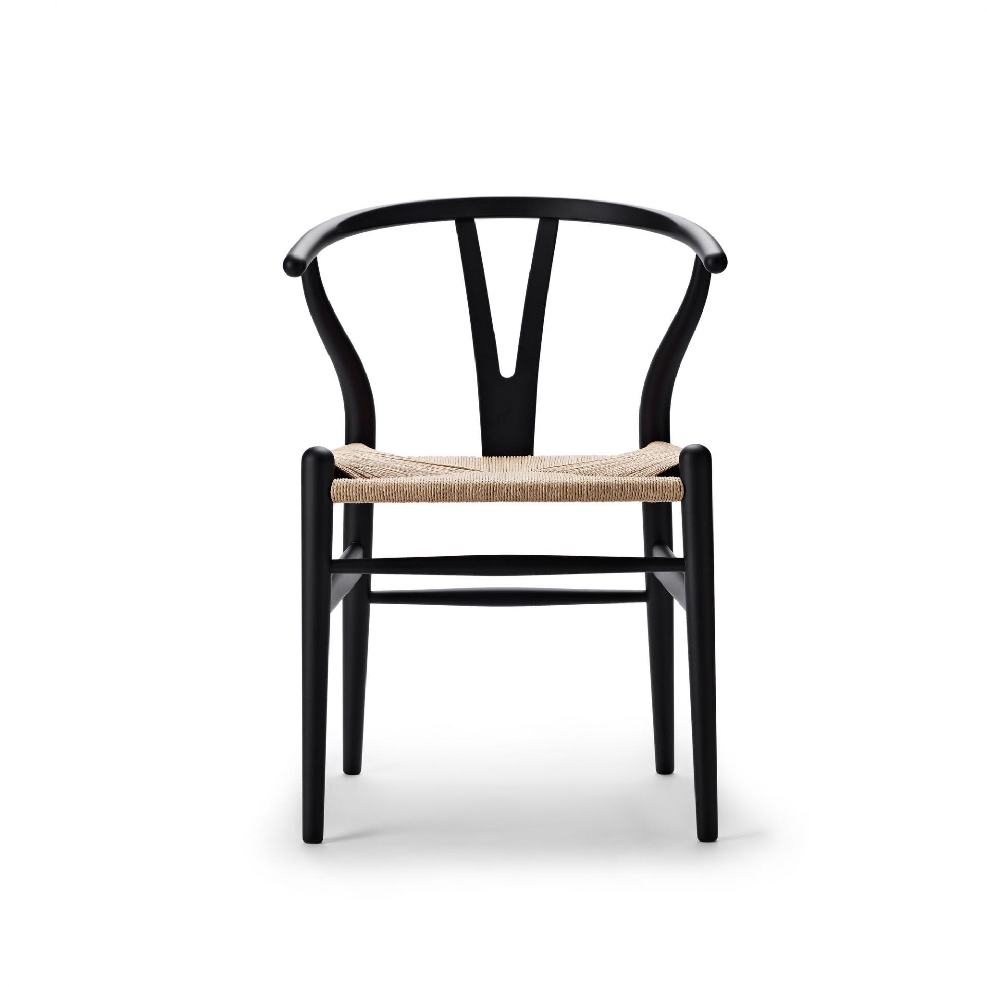 CH24 SOFT Wishbone Chair / Y-Chair Stuhl Carl Hansen & Søn LIMITED EDITION grau