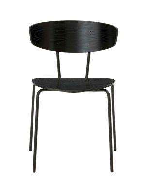 Herman Chair Stuhl Ferm Living-schwarz