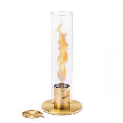 Spin 120 Windlicht/Tischfeuer gold höfats