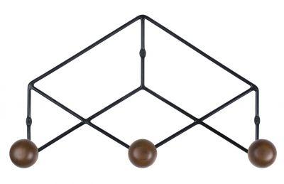 Epure Trio Coat Rack Hängegarderobe Kann Design -schwarz