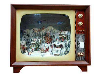 Weihnachtsdeko TV big mountain/village Timstor