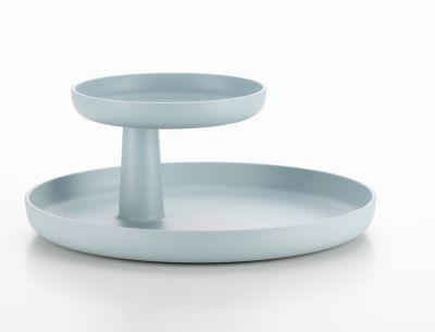 Rotary Tray Tablett Vitra-eisgrau