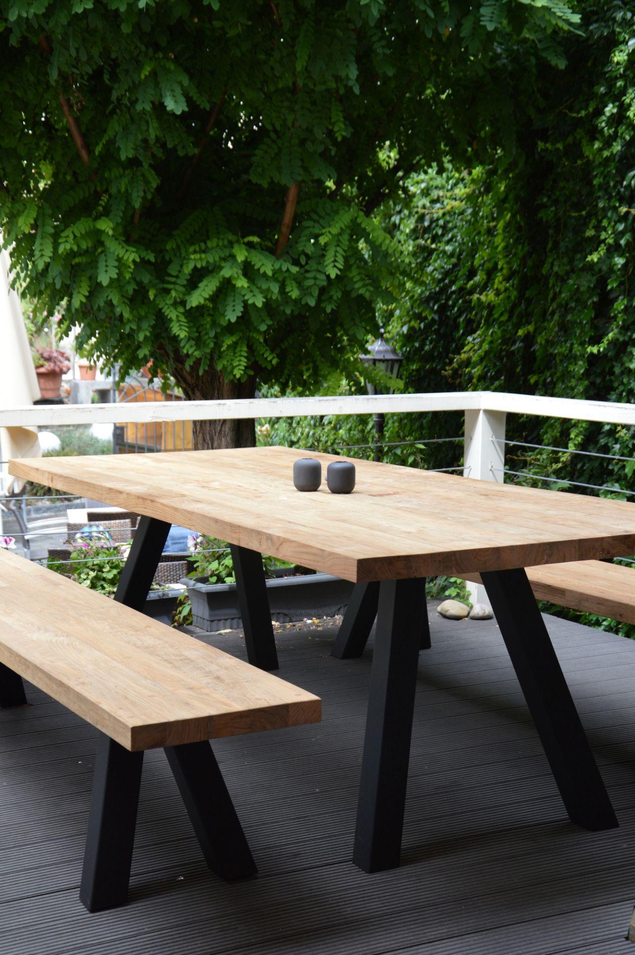 Bradford Tisch Breite 300 Natur Schwarz Jan Kurtz