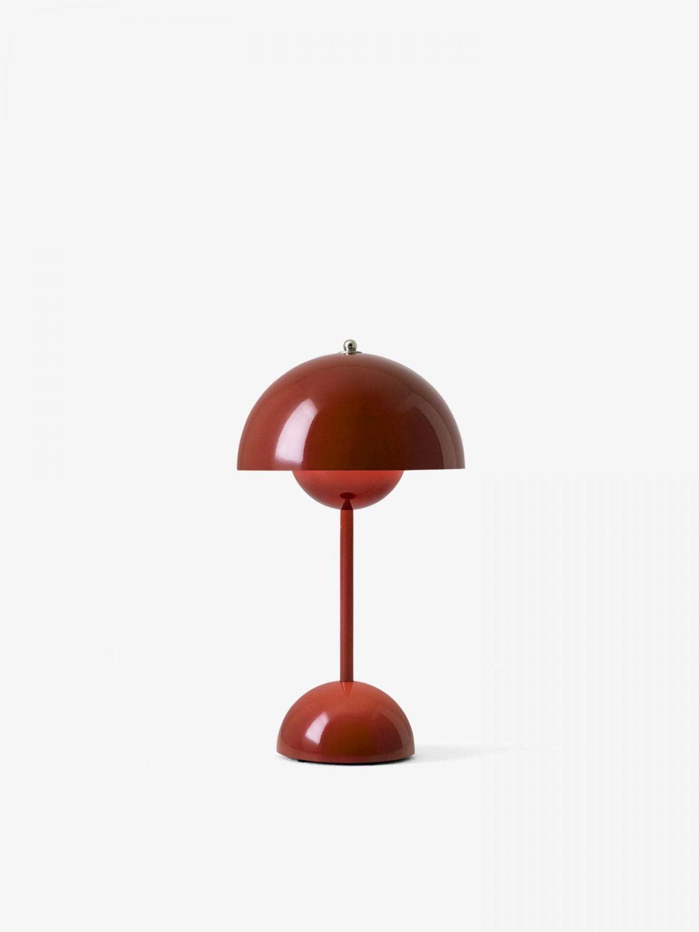 Flowerpot VP9 Portable Akkuleuchte / Tischleuchte mit USB &Tradition