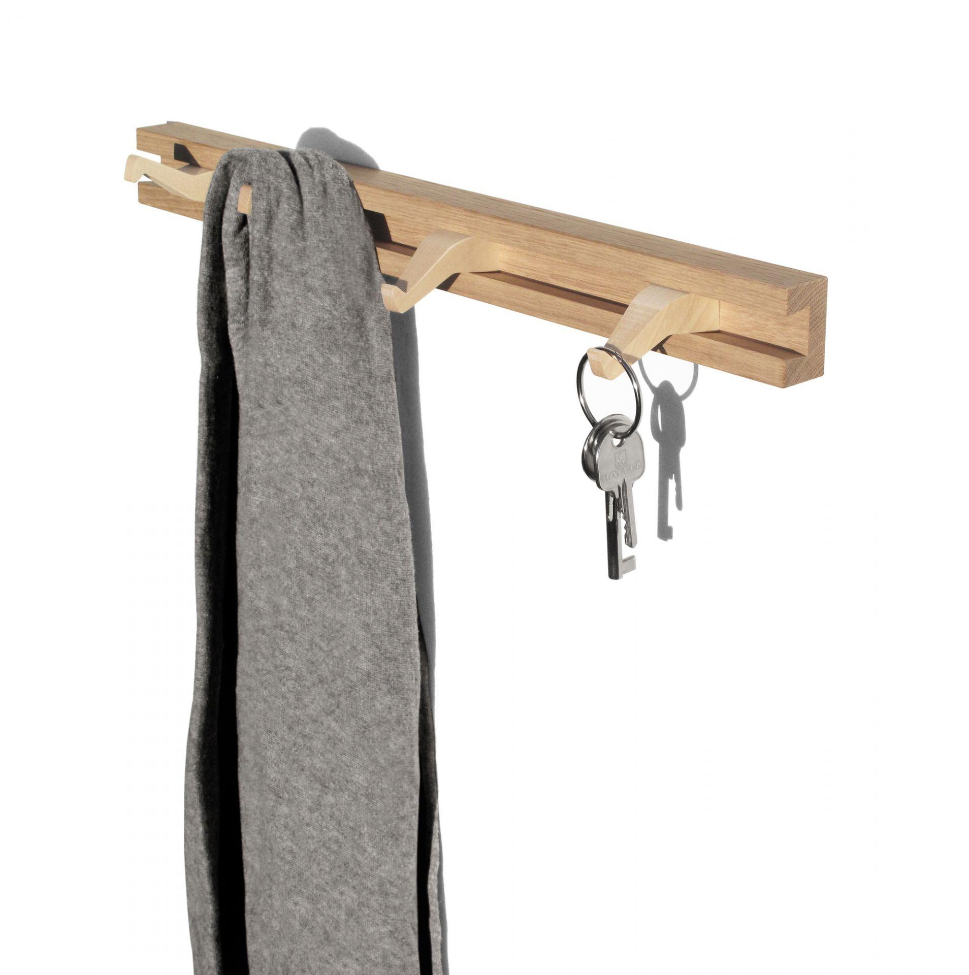 Anderl Coat Rack Garderobenleiste Side by Side S