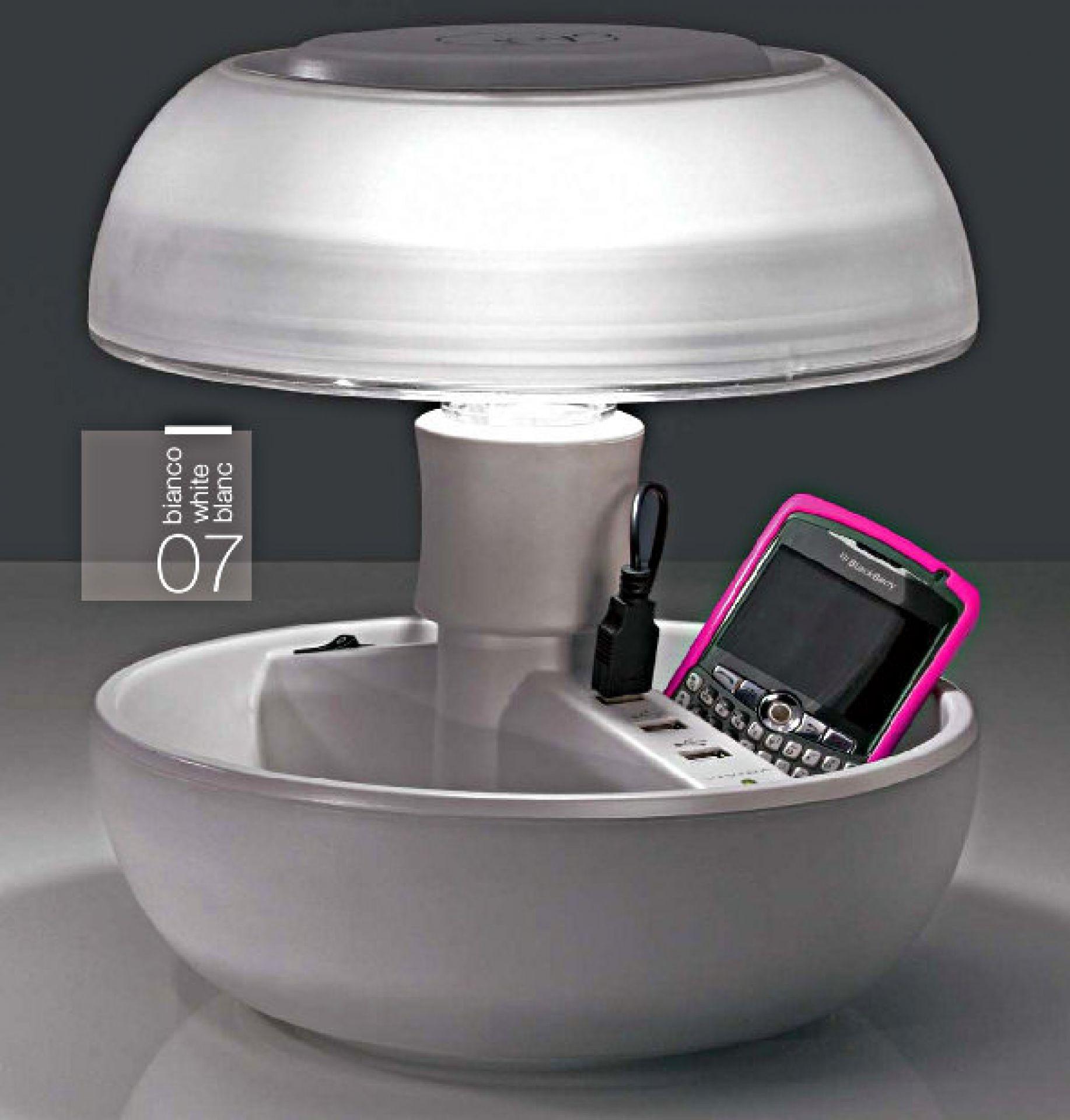 Joyo transluzent USB Ladegerät und Tischleuchte