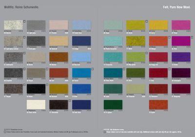 Stoffmusterkarte Farben 2020 Hey Sign