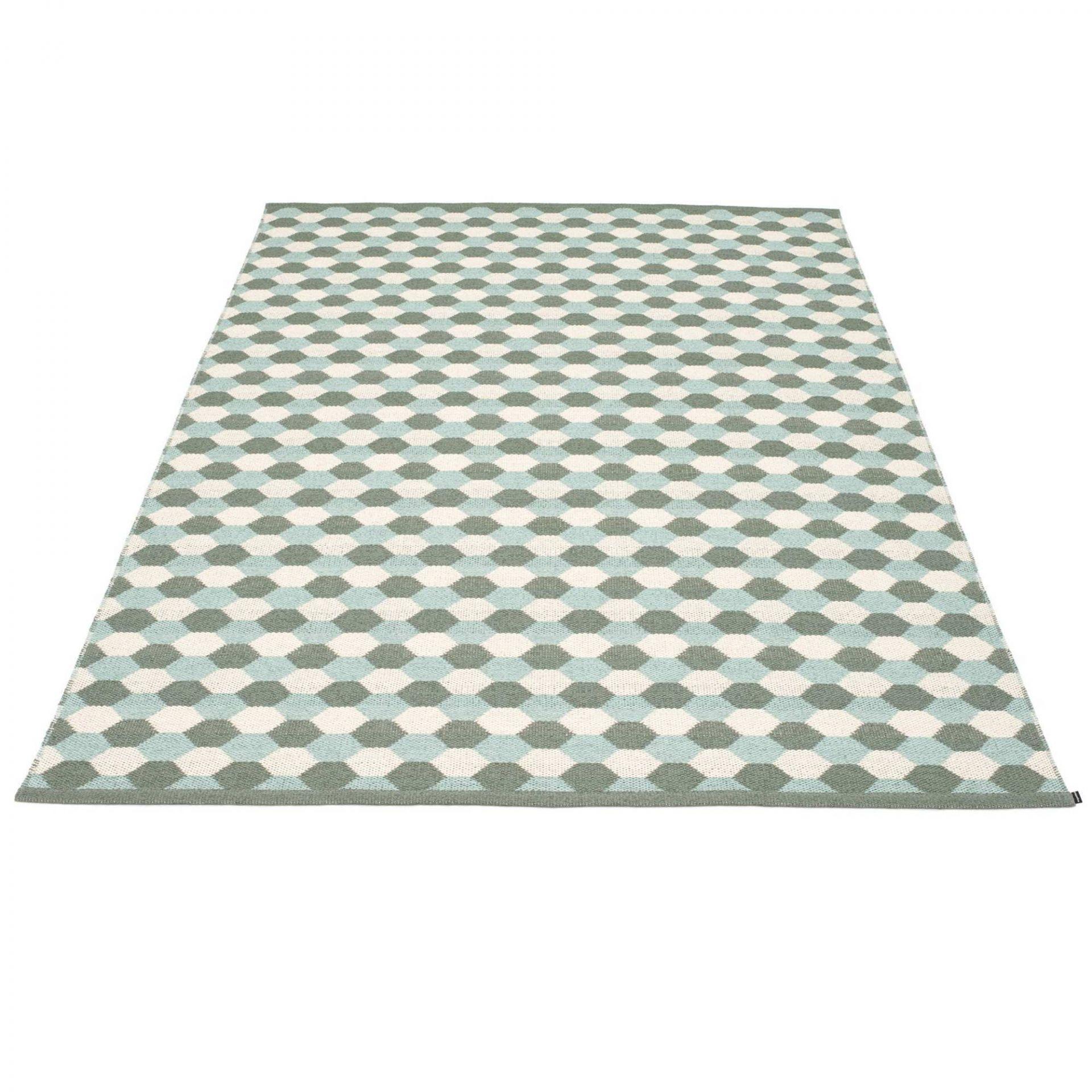 Dana Kunststoffteppich 180x275 ocker Pappelina