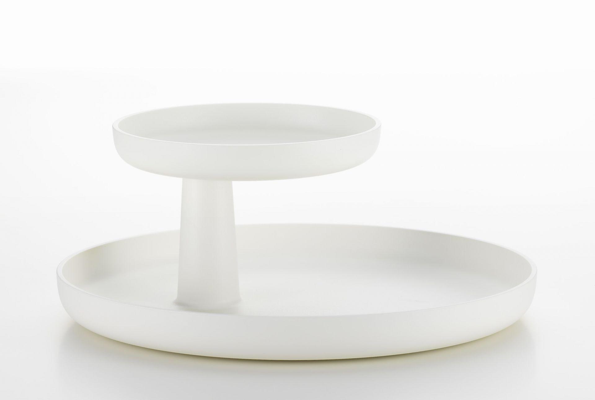 Rotary Tray Tablett Vitra-palmgrün