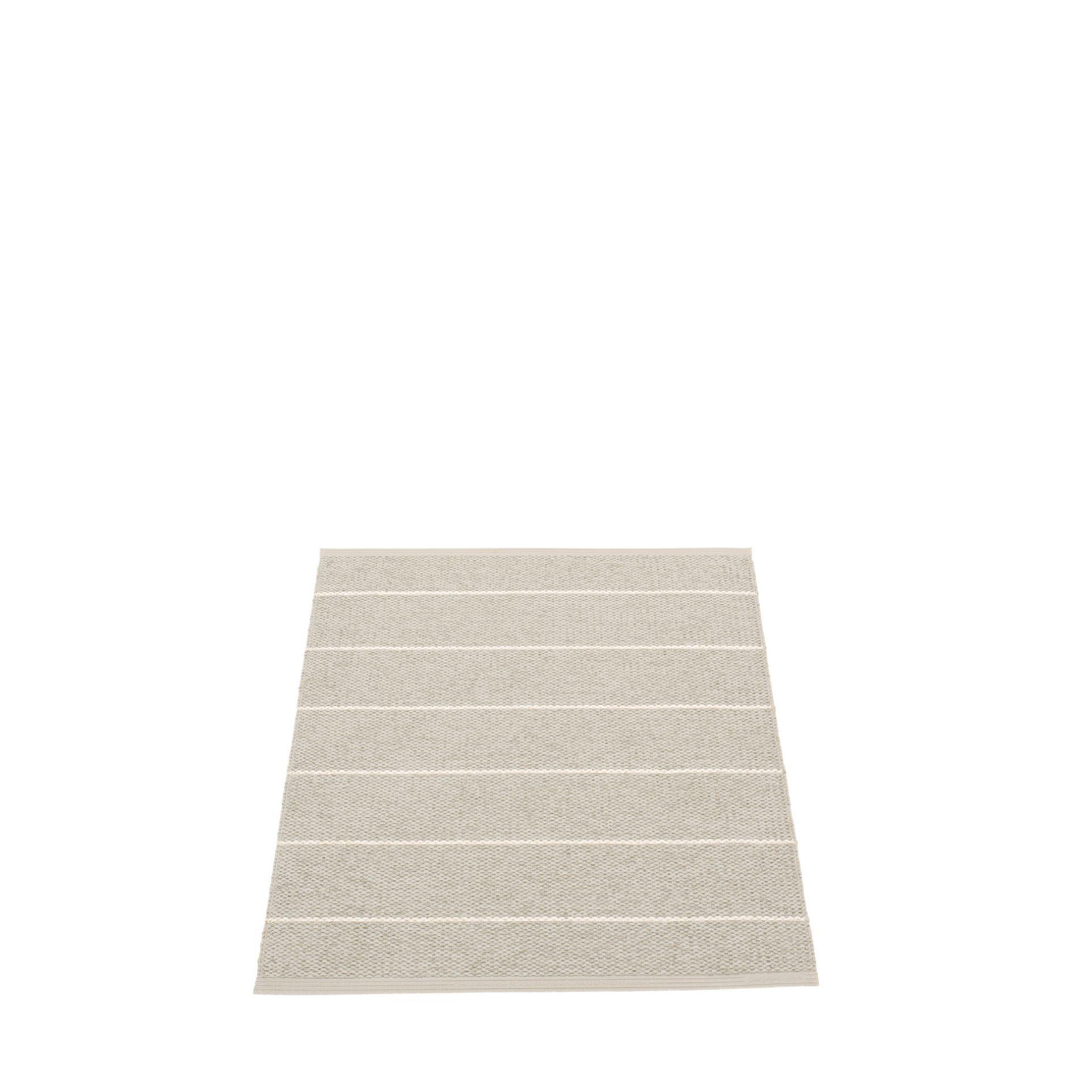 Carl Kunststoffteppich 70x90 cm Pappelina Leinen/ Beige