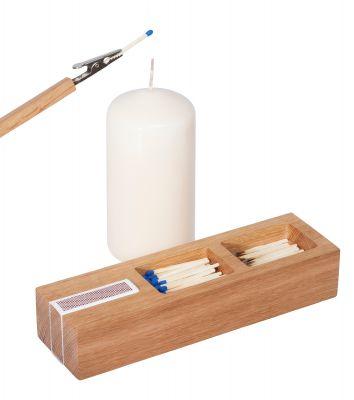 Feuer-Zeuge Streichholzbox & Anzündhilfe Designimdorf