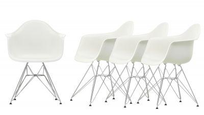 Aktion Eames Plastic Arm Chair DAR Stuhl 4-er Set Vitra