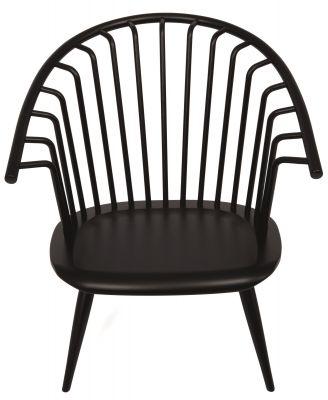 Crinolette Sessel Artek-schwarz lackiert